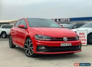2018 Volkswagen Polo AW GTI Hatchback 5dr DSG 6sp 2.0T [MY18] Flash Red A for Sale